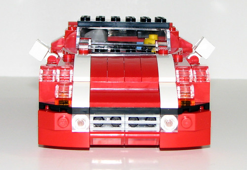 2010 LEGO Creator 5867 Super Speedster - Minifig Size!