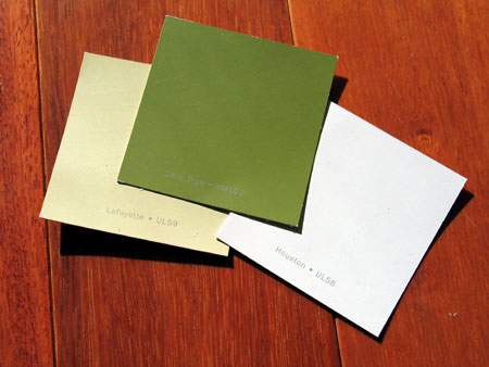 Dinnette paint colors