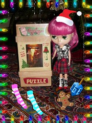 Holiday Swap (JennyCouture) Tags: christmas lamp leg story blythe hahahaha trixie lami ih ralphie rbl nanine awar lati amajor
