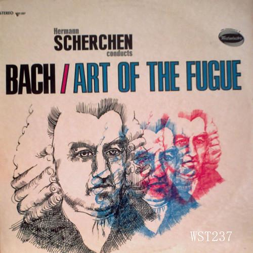編曲に38年をかけたシェルヘンのフーガの技法、大バッハへの敬意と言うよりもはやオリジナル作品。