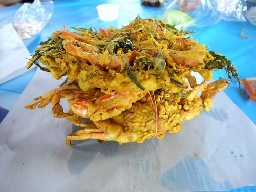 Deep Fried Crabs