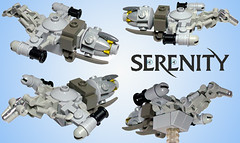 Serenity other views now on cuusoo (tbone_tbl) Tags: ship lego space mini serenity micro firefly microscale foitsop miniscale