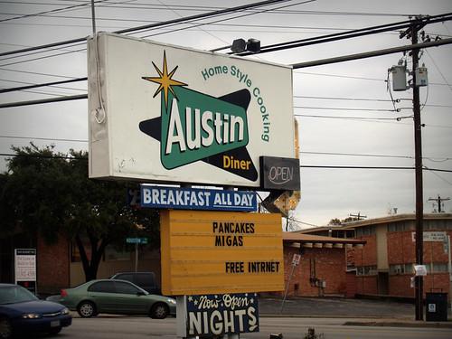 Austin Diner sign