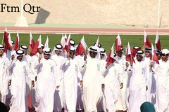 Qatar National Day (F    Q   ,, in AD) Tags: university day national 2009 doha qatar 18des qarat