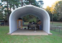 SteelMaster Open Steel Shelter