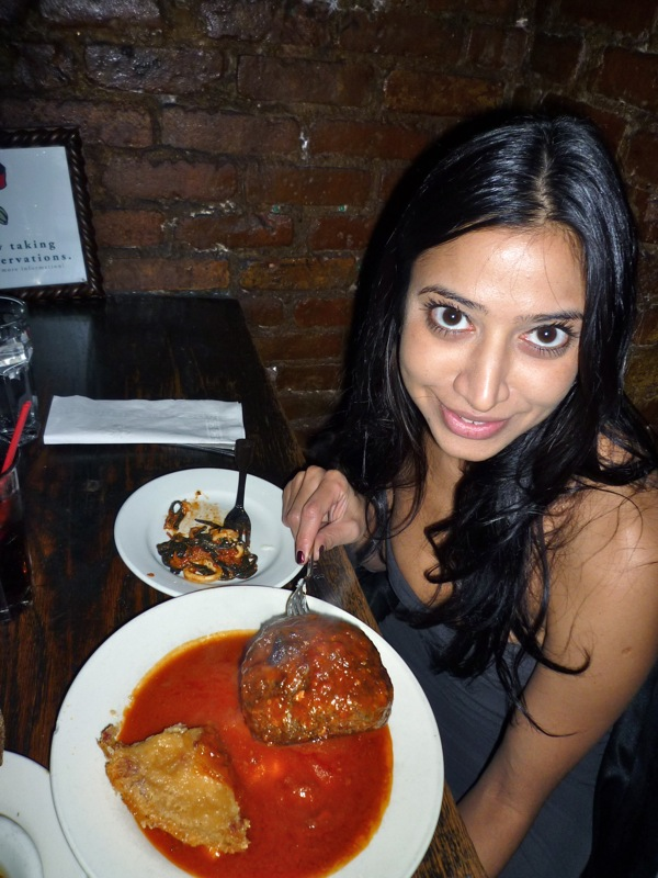 Preethi's Congrats Meal