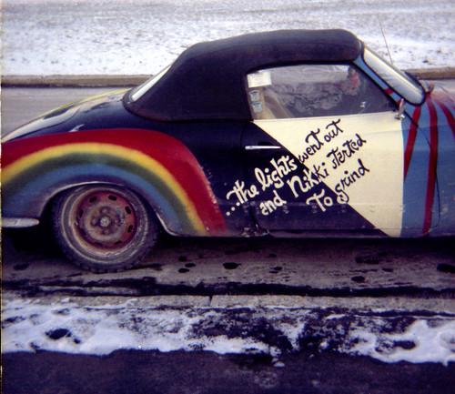 Art Car, Vestal, NY, mid-80's