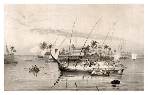 010- Isla Itaparica- Sabatier -Viagem pitoresca através do Brasil 1827