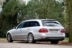 Mercedes Benz E63 Amg Combi (Bjrn R.) Tags: winter mercedes benz estate belgium belgie stuttgart rims combi tyres amg e63 schilde affalterbach