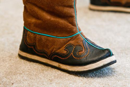 New Mongolian Boots