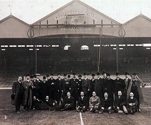 Old Trafford, C1910