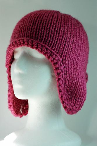 Pink Earflap Hat