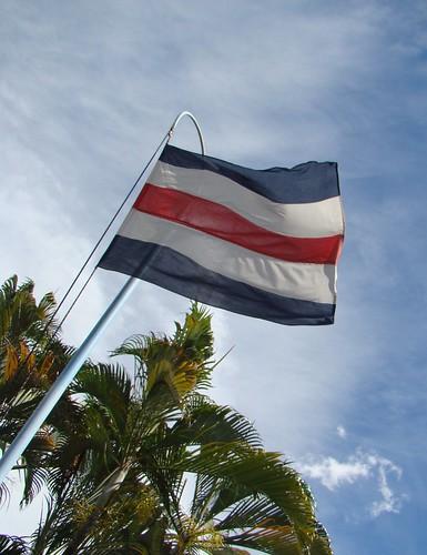 Bandera y Nubes enero 2010