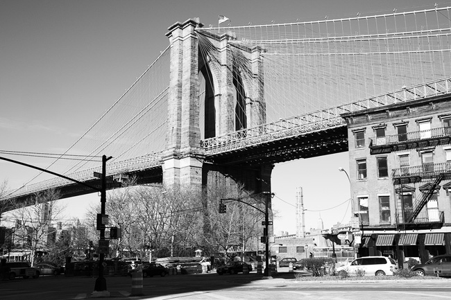 Brooklyn Bridge Pier