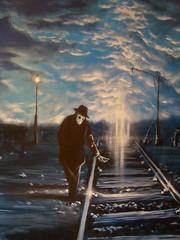 doom remake 3 (emy mariani) Tags: azul mural arte graffitti doom pincel