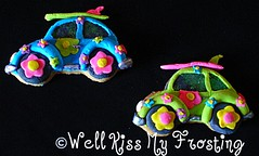 Surfing USA in a VW Cookie (well kiss my frosting) Tags: flower vw volkswagen mod 60s cookie power surfing flowerpower volkswagencookie surfingcookie vwcookie modcookie 60scookie