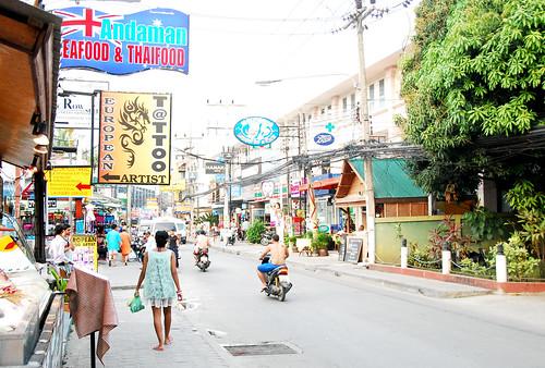 Streets Koh Samui