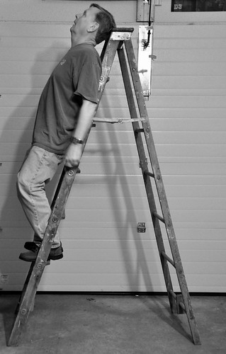 The Fine Art of Learning to Relax on a Ladder