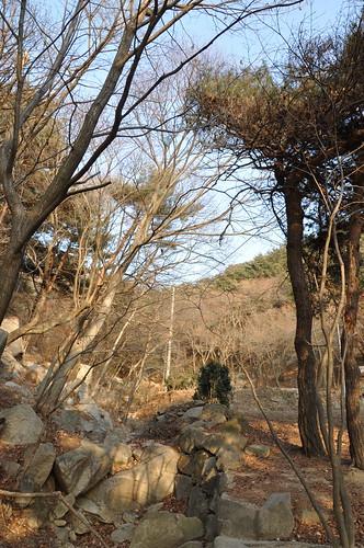 Subida a la montaña de Daegu
