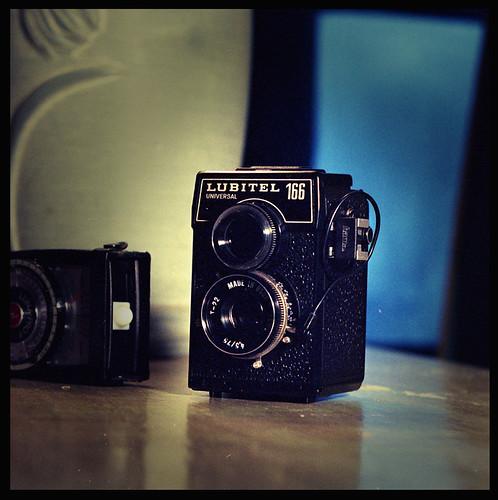 Lubitel 166U лomo camera