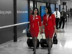 A picture for Bas Bogers (Bhakti - Amsterdam) Tags: people indonesia airport jakarta airports stewardess airasia