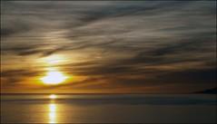 (Rafael Montes) Tags: blue sea sky espaa costa clouds la mar spain dramatic playa paisaje olympus andalucia cielo granada nubes puesta hdr topaz rovers rov albuol e520 rabita 220posse