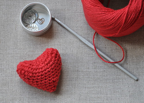 Crocheted Valentine's Day Heart