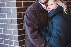 1/365 - Leah and Graham (seanmcgrath) Tags: winter people snow canada slr engagement nikon couple gear naturallight things noflash newbrunswick 365 nikkor saintjohn naturallighting d90 2470mmf28 project365 nikond90 2470mmf28ged thebestlgihting