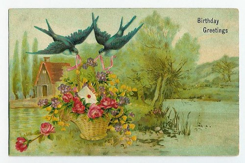 Vintage Post Cards / Cindy G