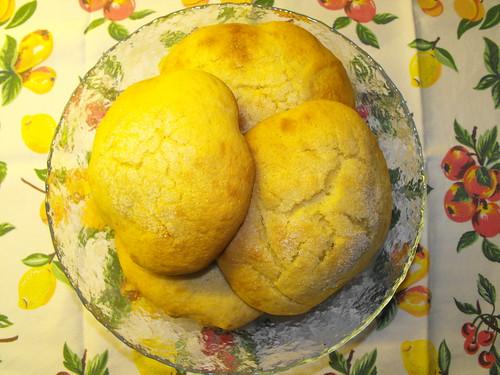Pãezinhos doces de batata