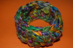 creazioni betta 010 (elisabetta mastrosimone) Tags: lana braccialetto alluncinetto