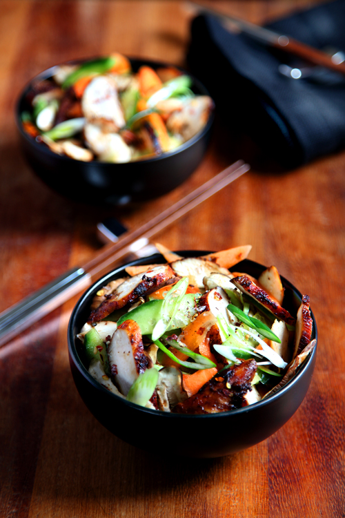 :: Spicy Sichuan Chicken Salad