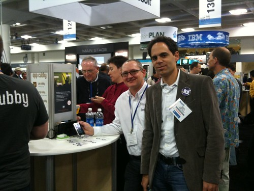 .TEL booth at Macworld