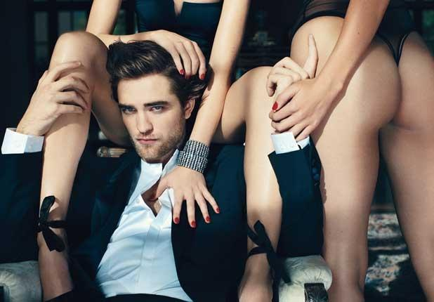 Robert Pattinson in Details, March 2010