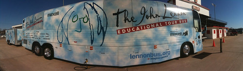 The John Lennon Tour Bus (in Yukon, Oklahoma