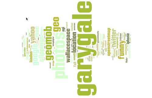 Playing with tag clouds: http://delicious.com/vicchi