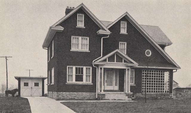 1645 Cambridge Boulevard in 1918 by UA Archives  Upper Arlington History