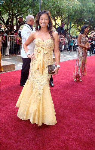 Jen Su on SAFTAS Red Carpet