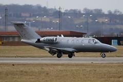 G-PWNS - 525-0153 - Hangar 8 - Cessna 525 Citation Jet - Luton - 100303 - Steven Gray - IMG_7746