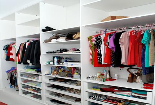 foto de closet planejado feminino