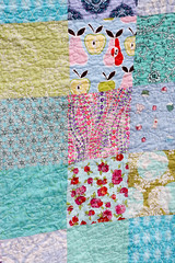 Cool Colors Quilt - Detail (Jeni Baker   In Color Order) Tags: blue green robert home colors modern march cool purple quilt handmade turquoise sewing moda henry quilting stitching block quilts alexander crafting 2010 kauffman hushabye