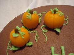 Pumpkin Patch (aepham) Tags: birthday pumpkin adult chocolate marzipan grownup