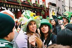St Patricks Day 2010 (Anthony Cronin) Tags: ireland dublin green film st analog 35mm samba patrick ishootfilm chicas celtic stpatrick ac apug shamrock stpatricksday sexywomen 2010 konicaautoreflextc streetparty brazilia honeys saintpatricksday paddysday march17 march17th kissmeimirish dubliners dublinstreet dublinstreets allrightsreserved dublinlife streetsofdublin irishphotography patricksdayparade lifeindublin filmisnotdeaditjustsmellsfunny irishstreetphotography hexanonlens streethoneys dublinstreetphotography streetphotographydublin anthonycronin 031710 livingindublin insidedublin livinginireland streetphotographyireland streetsamba 17032010 170310 03172010 brazilianinireland expiredfujicolor200 fujicolor200superia photangoirl