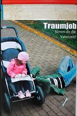 traumjob (loop_oh) Tags: germany poster deutschland dad hessen frankfurt main dream bank pa papa job plakat vater frankfurtammain frankfurtmain roemer metropole rmer mainhattan eintracht frankfurtam