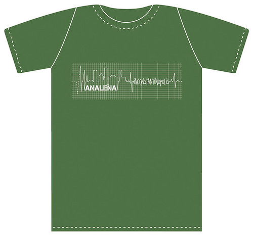 ANALENA T-Shirt - olive green