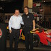 Ridemakerz CEO Larry Andreini and Downtown Disney VP Keith Bradford