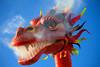 Il drago / The dragon (AndreaPucci) Tags: carnival italy italia colore dragon smoke tuscany carro toscana carnevale drago viareggio fumo canoneos400 allegorico cartapesta carnevalediviareggio canonefs1855mm3556 andreapucci