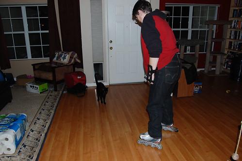 Buddah vs the skates
