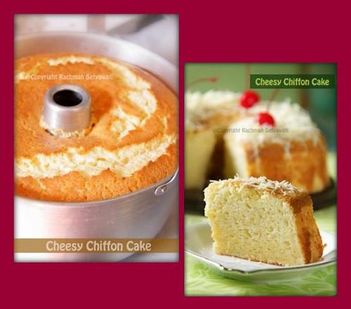 Cheesy Chiffon Cake
