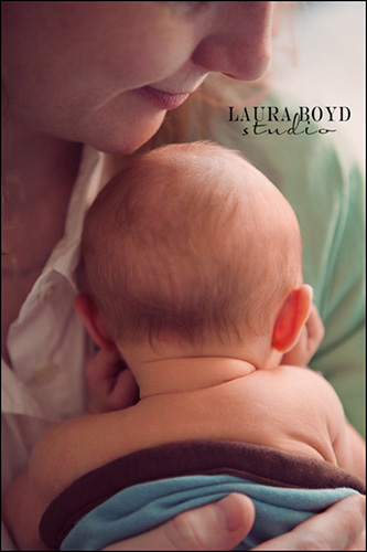 Mom and Baby 2 -- by Laura Boyd